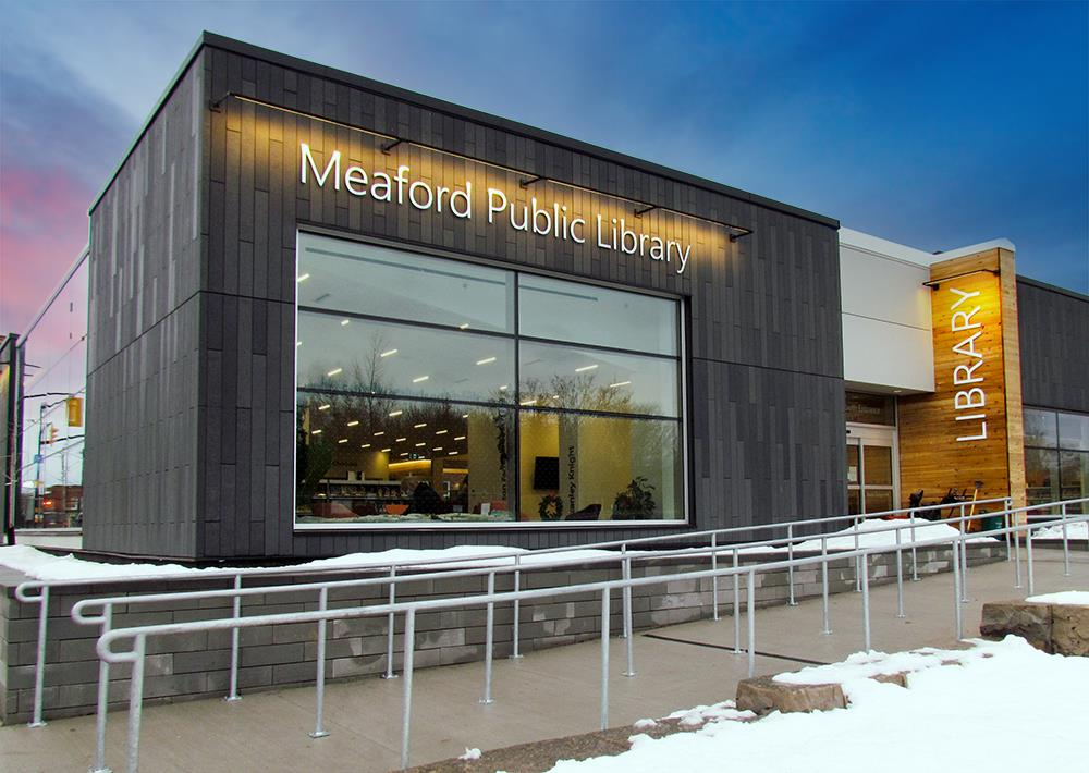 Styk Exterior - Meaford Public Library