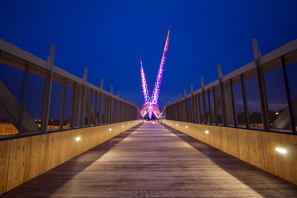 Echo Effect - Skydance Bridge