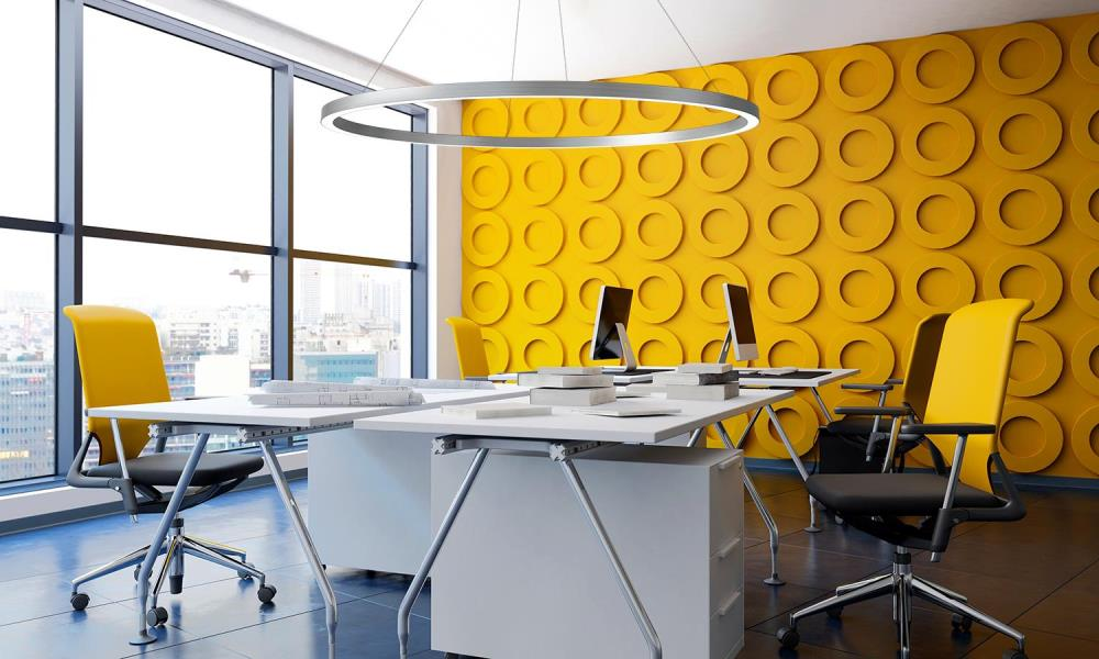 Zynn Ring - Yellow Office Concept