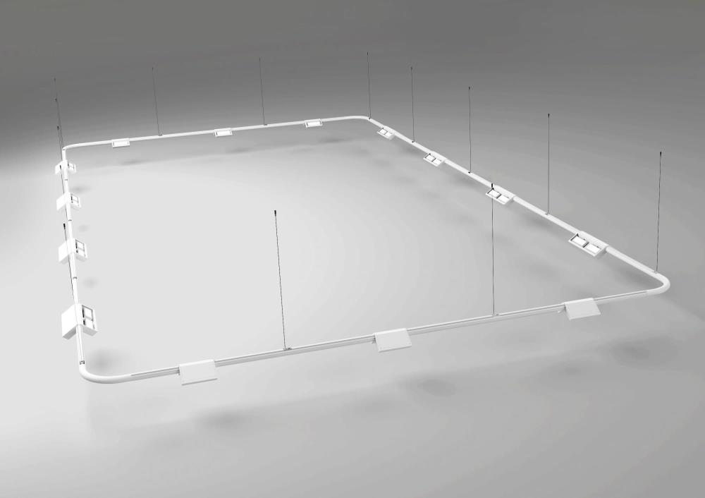 Lightruss Rail - System Render