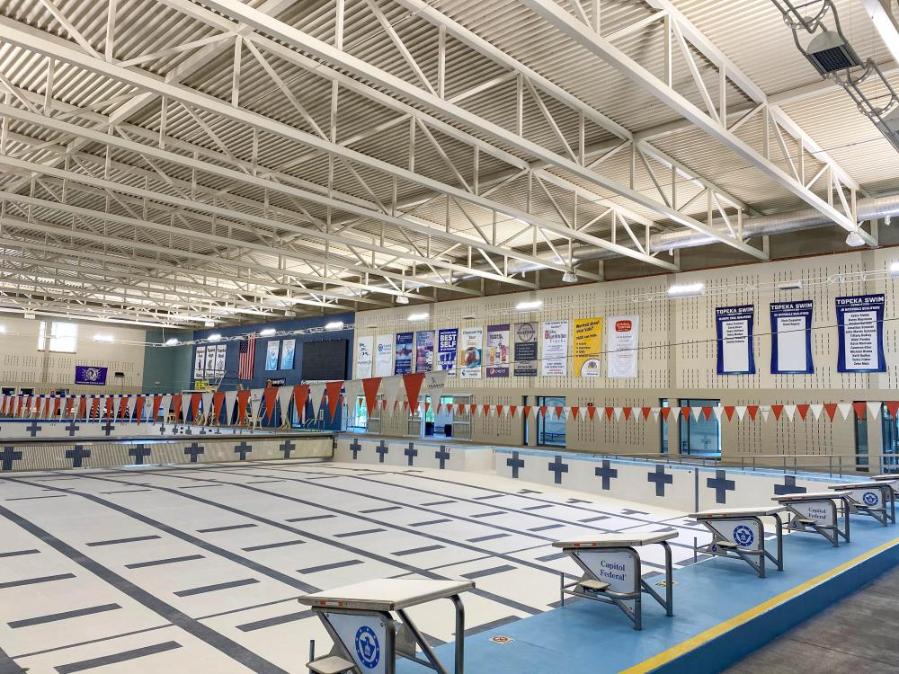Lightruss LED Upgrade - Capitol Federal Natatorium at Hummer Sports Park