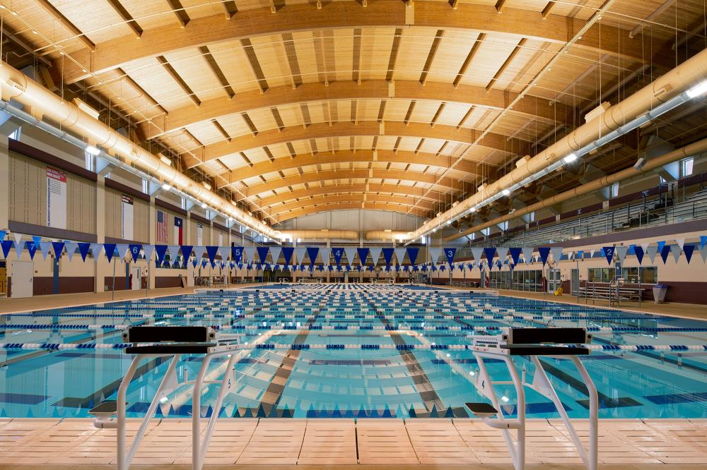 Lightruss LED Upgrade – Conroe Independent School District Natatorium