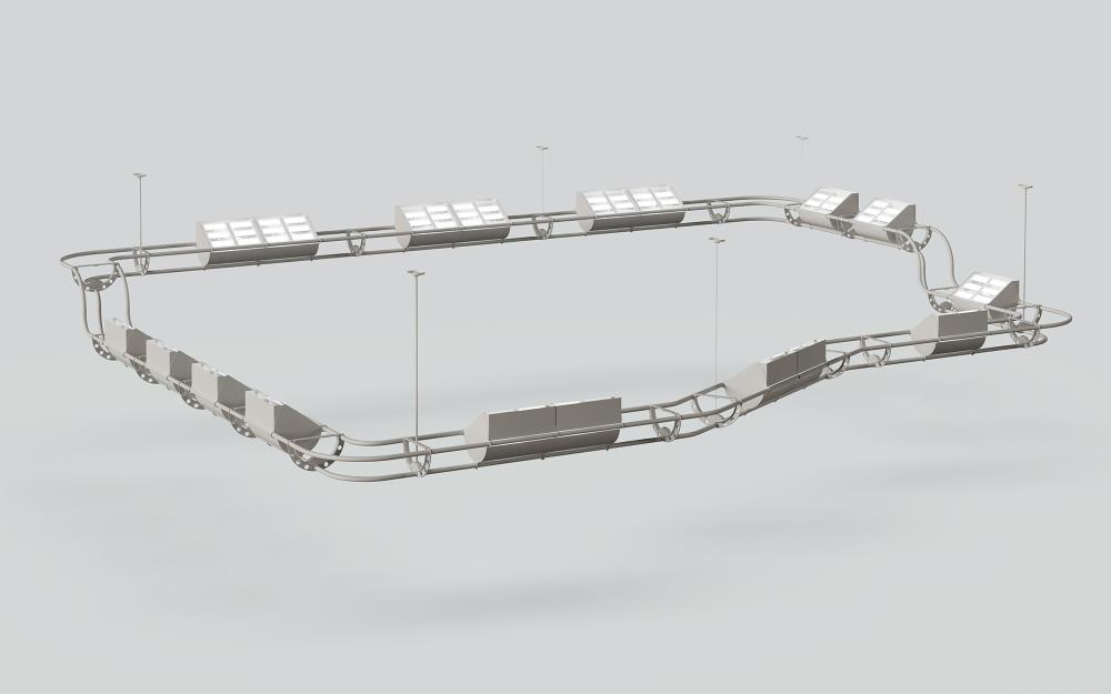 Lightruss LED Round - System Render