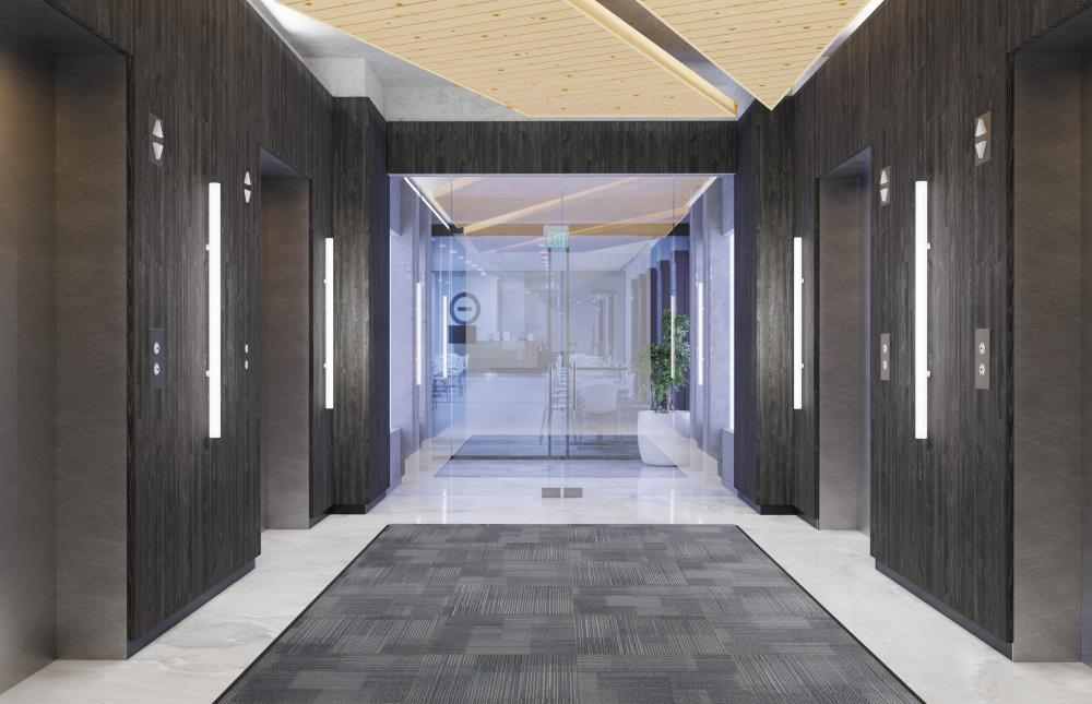 "Pavo 2"" Wall - Elevator Lobby Concept"