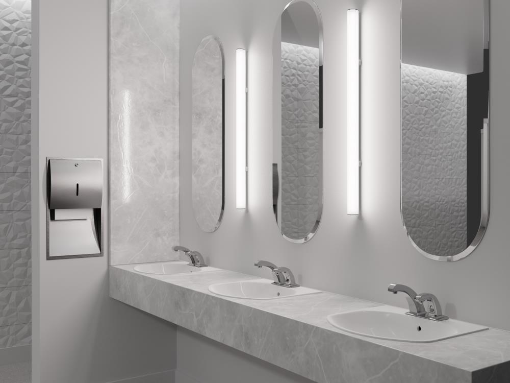 "Pavo 2"" Wall - Vertical Vanity Concept"