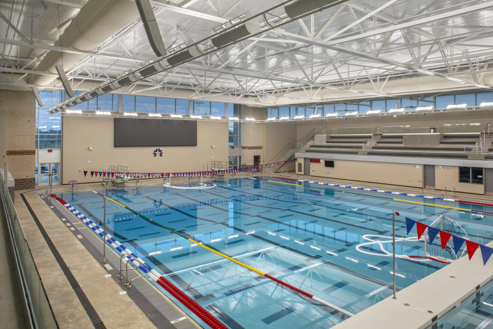 Lightruss LED - New Caney Aquatic Center