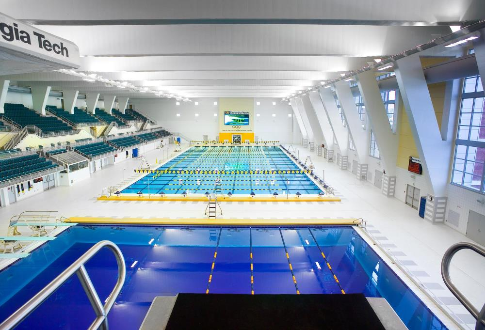 Lightruss - Collegiate Swimming Pool in Georgia
