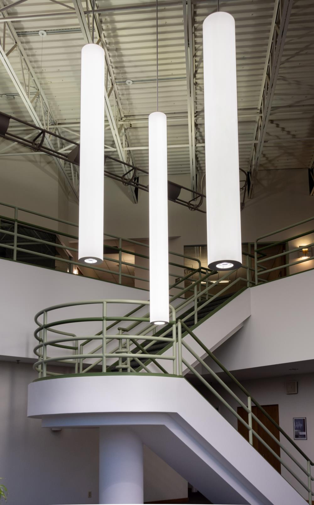 "Pavo 8"", 10"", 12"" - SPI Lighting Stairwell"