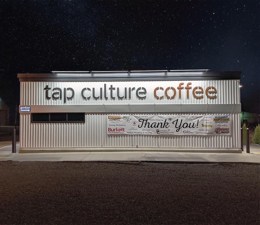Styk Exterior (shown with Forward Throw optic) - Tap Culture Coffee