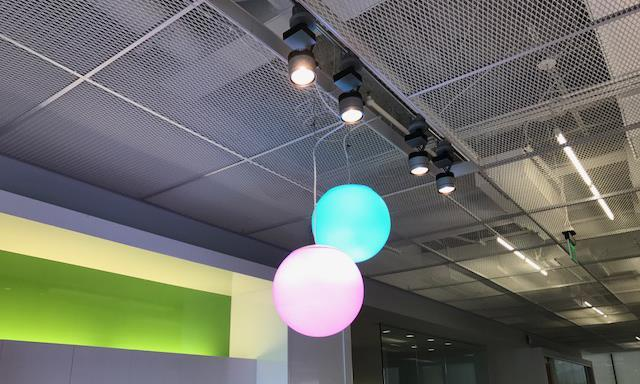 Spheres - RGB - Gensler Offices