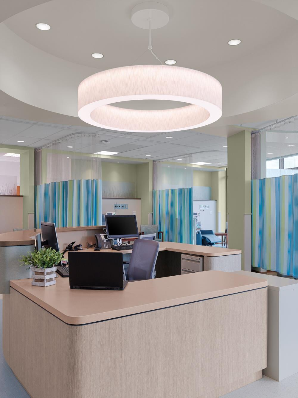 "Novato Ring, Jute Linen, H10 - John H. ""Jack"" Burbage Jr. Regional Cancer Care Center, Atlantic General Hospital"