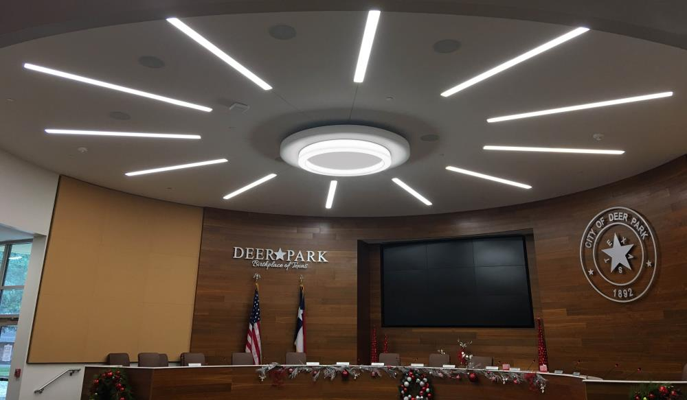 Novato Ring Ceiling - Deer Park City Hall